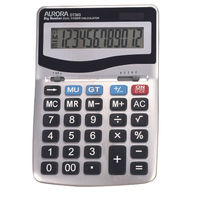 Aurora DT303 Large Desktop Calculator, 12 Digit Display - 566861