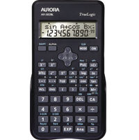 Aurora Black 2-Line Scientific Calculator - AX582BL
