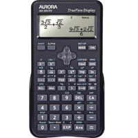 Aurora Scientific Calculator, 254 Functions - AX595TV