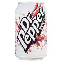 Dr Pepper Zero 330ml Pack of 24  - 0402053