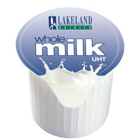 View more details about Lakeland Full Fat Milk Pots, Pack of 120 | A01982