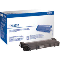 Brother TN-2320 Black Toner Cartridge - High Capacity TN2320