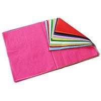 Bright Ideas Coloured Tissue Paper, 520 x 760mm, 480 Sheets - BI7830