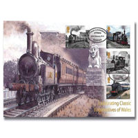 Classic Locomotives of Wales Stamps First Day Cover - BC503