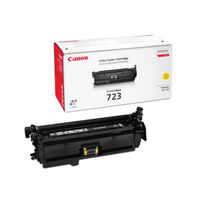 View more details about Canon 723Y Yellow Toner Cartridge 2641B002