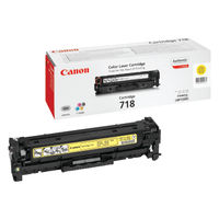 Canon 718 Yellow Laser Toner Cartridge - 2659B002