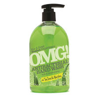 OMG 500ml Tea Tree and Aloe Vera Antibacterial Hand Wash - 0604399