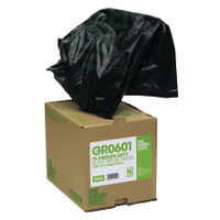 View more details about The Green Sack Heavy Duty Refuse Bag in Dispenser Black (Pack of 75) GRO601