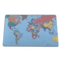 Durable World Map Desk Mat, 400 x 530mm - 7211