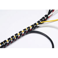 View more details about D-Line Cable Tidy Spiral Wrap 2.5m Black (Expands from 14mm to 40mm) CTW2.5B