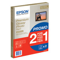 Epson A4 Premium Glossy Photo Paper, Pack of 30 - C13S042169
