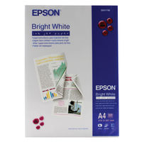View more details about Epson Bright White A4 Inkjet Paper, 90gsm - 500 Sheets - C13S041749