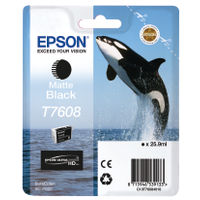 Epson T7608 Matte Black Ink Cartridge - C13T76084010