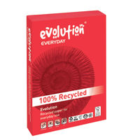 View more details about Evolution Everyday White A4 Paper, 75gsm - 2500 Sheets / 1 Box - EVE2175