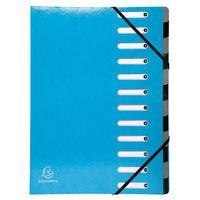 Iderama 12 Part File, Light Blue - 53927E