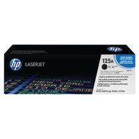 HP 125A Black Laser Toner Cartridge - CB540A