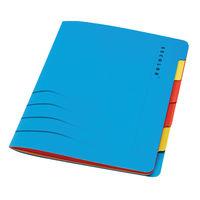 Jalema A4 Secolor Sixtab Organiser - Pack of 5 - 8331600-10791