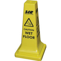 Hazard Warning Cone - Caution Wet Floor - 992387