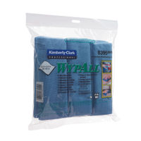 View more details about Wypall Microfibre Cloth Blue (Pack of 6) 8395