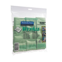 View more details about Wypall Microfibre Cloth Green (Pack of 6) 8396