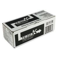 View more details about Kyocera TK-550K Black Toner Cartridge (Capacity: 7000 pages) 1T02HM0EU0