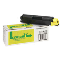 Kyocera TK-580Y Yellow Toner Cartridge