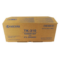 View more details about Kyocera TK-310 Black Toner Cartridge (12,000 Page Capacity)