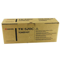 View more details about Kyocera Cyan TK-520C Toner Cartridge (4,000 Page Capacity)