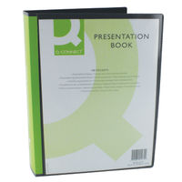 Q-Connect Black A4 Display Book - 100 Pocket KF01271