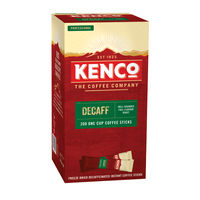 View more details about Kenco Decaff Instant Coffee Sticks, Pack of 200 - 89951