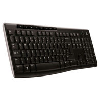 Logitech Black Wireless Keyboard K270 with USB Unifying Receiver - 920-003745