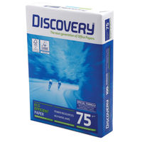 Discovery White A3 Paper, 75gsm, 500 Sheets - 59911