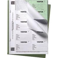 Nobo Visitors Badge Book, 250 Badges - 35334941