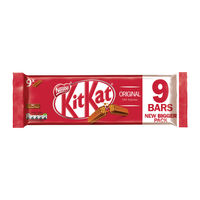 View more details about Nestle KitKat Two Finger Bars, Pack of 9 - 12339411