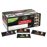 View more details about Cafe Bronte Mini Variety Twin Packs, Pack of 100 | NWT859