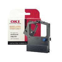 Oki Black Microline 520/521 Fabric Ribbon - 9002315