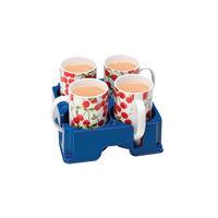 Muggi Blue 4 Mug Holder - MUG002