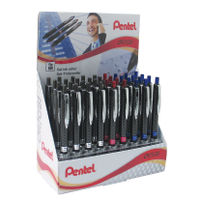 36 x Pentel Oh! Gel Pens in a Display in Assorted Colours - PE14117