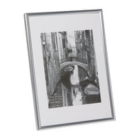 Photo Album Company Silver A4 Back Loading Certificate Frame - A4MARSIL-NG