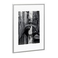 Photo Album Company A4 Brushed Aluminium Certificate Frame - PAAFA4B