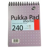 Pukka Pad Shortie Metallic Notebooks - Pack of 3 - SM024