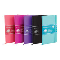 View more details about Pukka Signature Assorted A5 Casebound Notebook, Pack of 5 - 7747-SIG