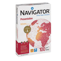 Navigator White A4 Presentation 100gsm Paper (5 Reams / 1 Box) NAVA4100