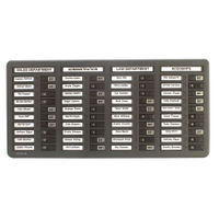 View more details about Indesign 40 Names In/Out Board Grey WPIT40I