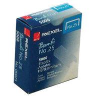 Rexel No.25 Staples - Metal 6/4mm Staples - Pack of 5000 - 05025