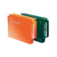 Rexel Crystalfile Extra A4 Green Lateral Files 30mm - Pack of 25 - 3000122
