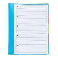 Rexel Joy 5 Part File Multi-Coloured - 62146
