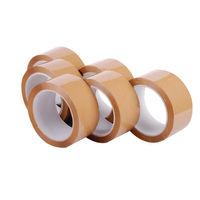 Polypropylene Packaging Tape 48mmx66m Brown (Pack of 6)