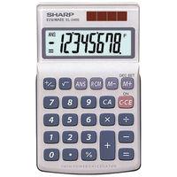Sharp EL-240SAB Handheld Calculator, 8 Digit Display - 5491192