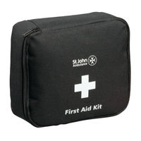 St John Ambulance Motor Vehicle First Aid Kit Medium Black F30801